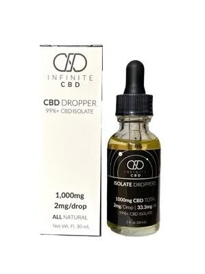 INFINITE CBD tincture - 1000mg