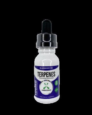 GREEN ROADS blueberry OG terpenes - 100mg