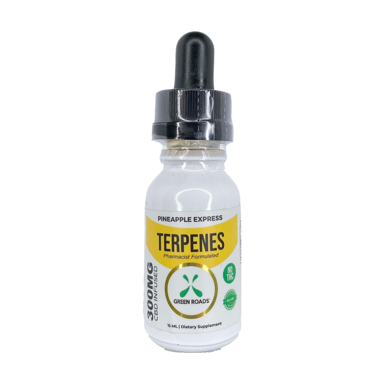 GREEN ROADS pineapple express terpenes - 300mg