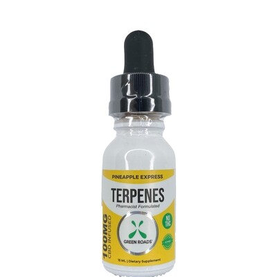GREEN ROADS pineapple express terpenes - 100mg