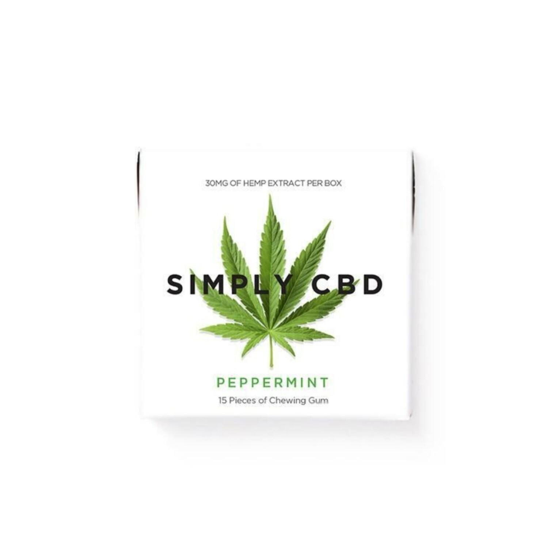 SIMPLY CBD gum - 30mg