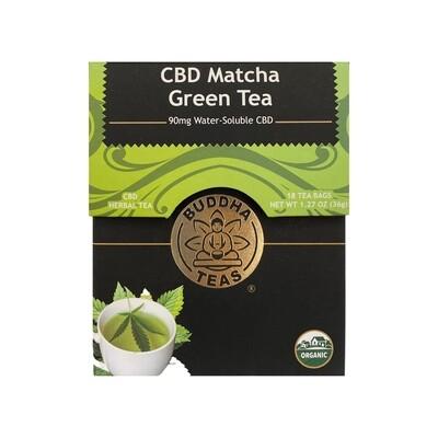 Green Tea Matcha CBD Tea