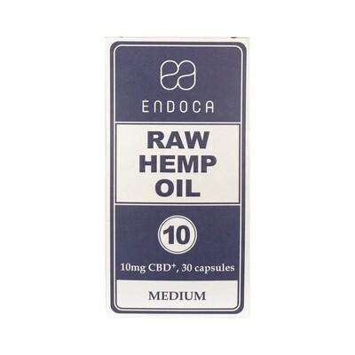 10mg 30ct Raw Hemp Capsules