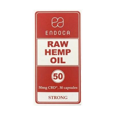 50mg 30ct Raw Hemp Capsules