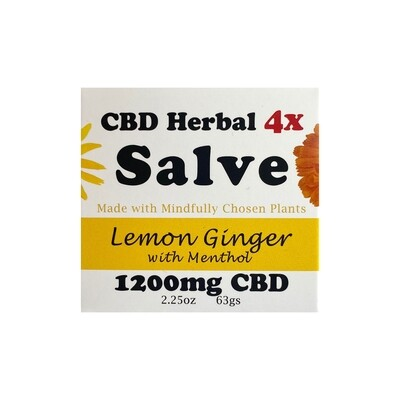 1200mg Lemon Ginger Salve