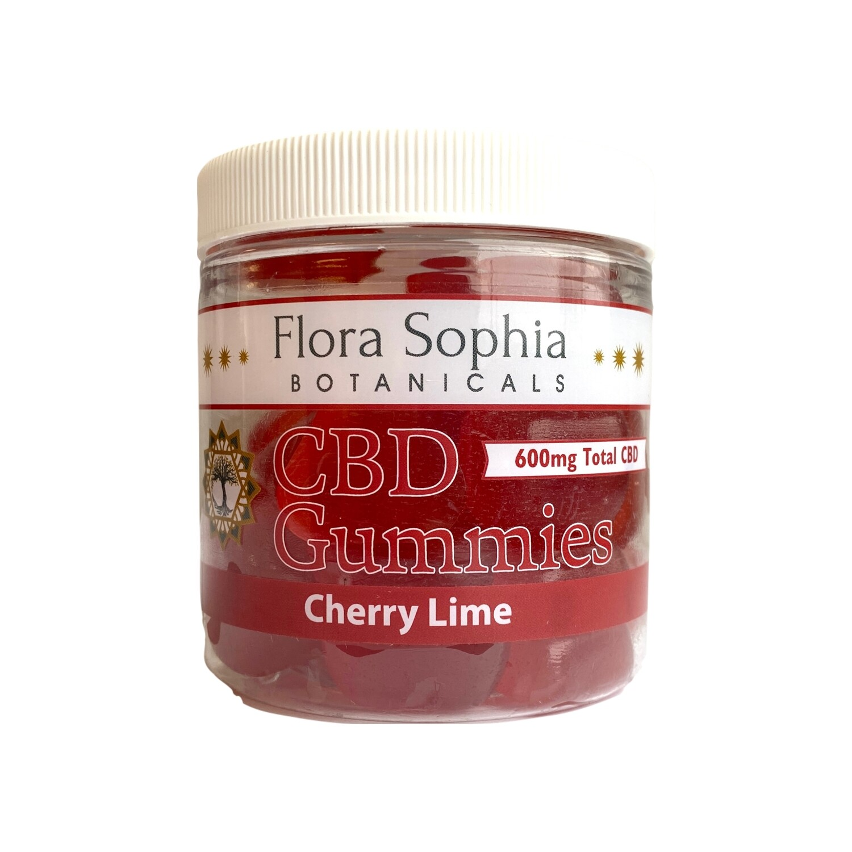 FLORA SOPHIA 20mg cherry lime gummies - 30 count
