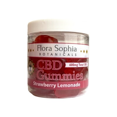 FLORA SOPHIA 20mg strawberry lemonade gummies - 30 count