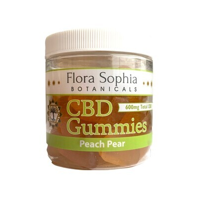 Flora Sophia Peach Pear Gummies