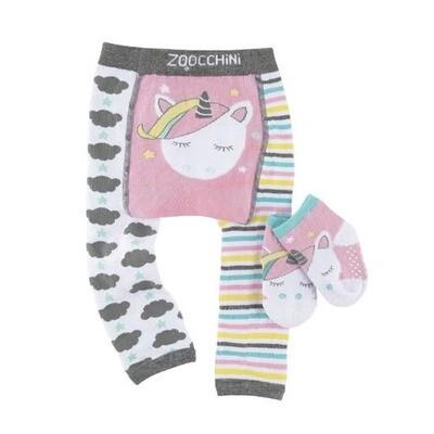 Zoochini Allie the Allicorn Legging & sock Set