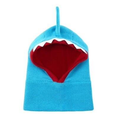 Zoochini Shark Baby Balaclava Hat