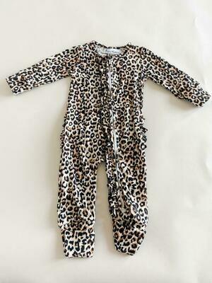 Queen Maddyn Leopard Zippie