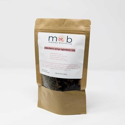 elderberry syrup ingredient mix