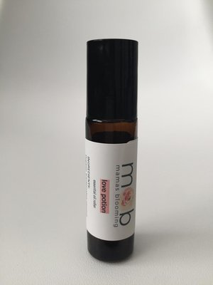 love potion essential oil roller
