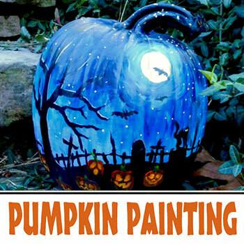 Online Pumpkin Painting Class