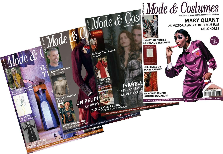 Abonnement 1 an (4 numéros) / 1-year subscription (4 issues)