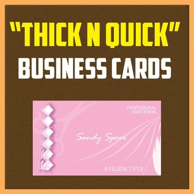16pt thick Business Cards