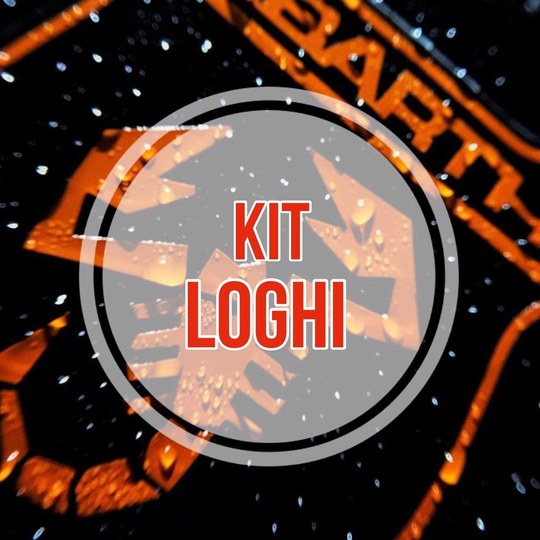 Kit Loghi personalizzati per 500 ABARTH - GPA - EVO ABARTH - 124 ABARTH