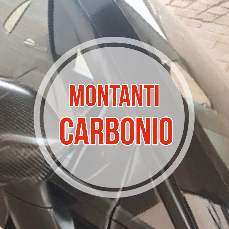 Kit Montanti Esterni Carbonio 5D per 500 ABARTH