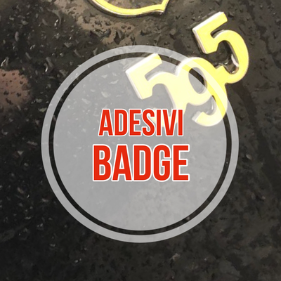 Kit Adesivi Badge 595 - 3 pezzi