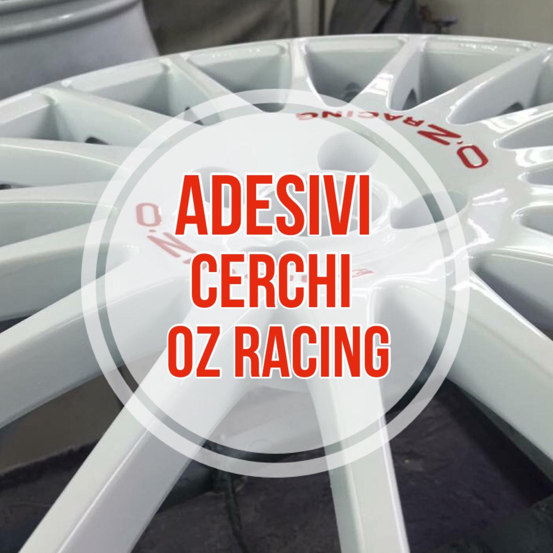 Adesivi per Cerchi OZ-RACING