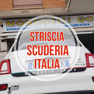 Striscia Baule Scuderia ITALIA