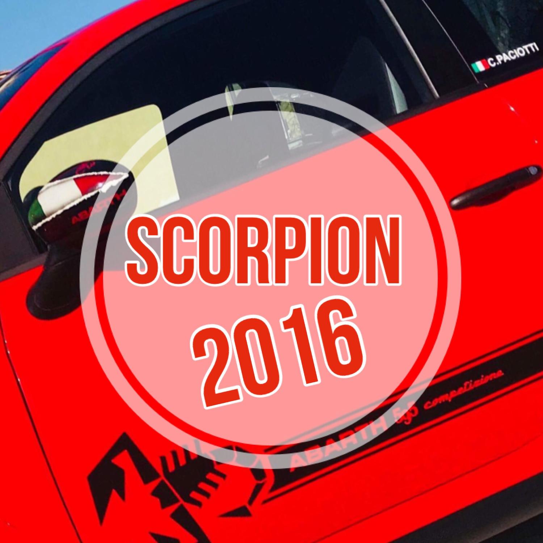 Kit Strisce Laterali Scorpion 2016 per 500 ABARTH