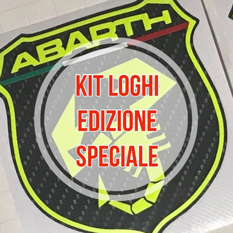 Kit loghi EDIZIONE SPECIALE - COLORI FLUO