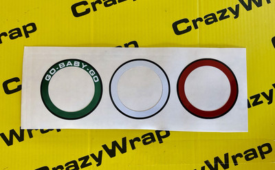Cerchietti colorati per plancia 500 ABARTH