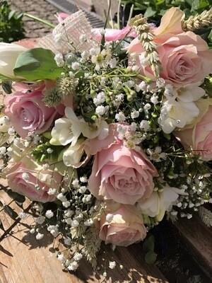 Bouquet com gesso perfumado