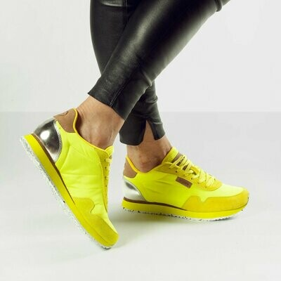 Neon Yellow Colour Sneakers