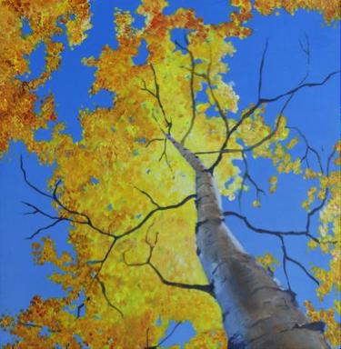 Aspen 2 -  2.5' x 1.5' - Canvas Print