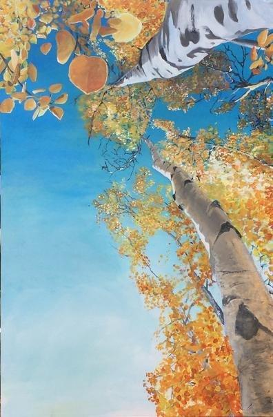"""Aspen 1 -  20"""" x 30"""" - Canvas Print"""