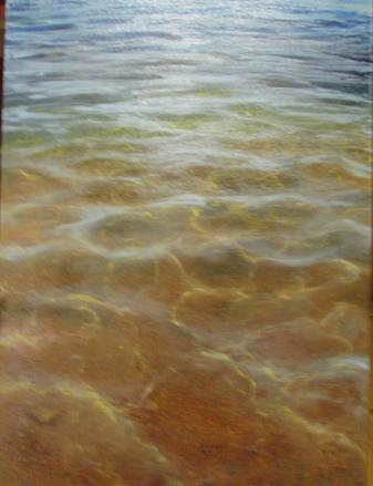 """Beach 1 - 30"""" x 24"""" - Canvas Print"""
