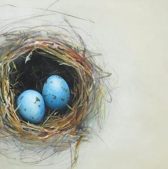 "The Nest - 24"" x 24"" - Canvas Print"