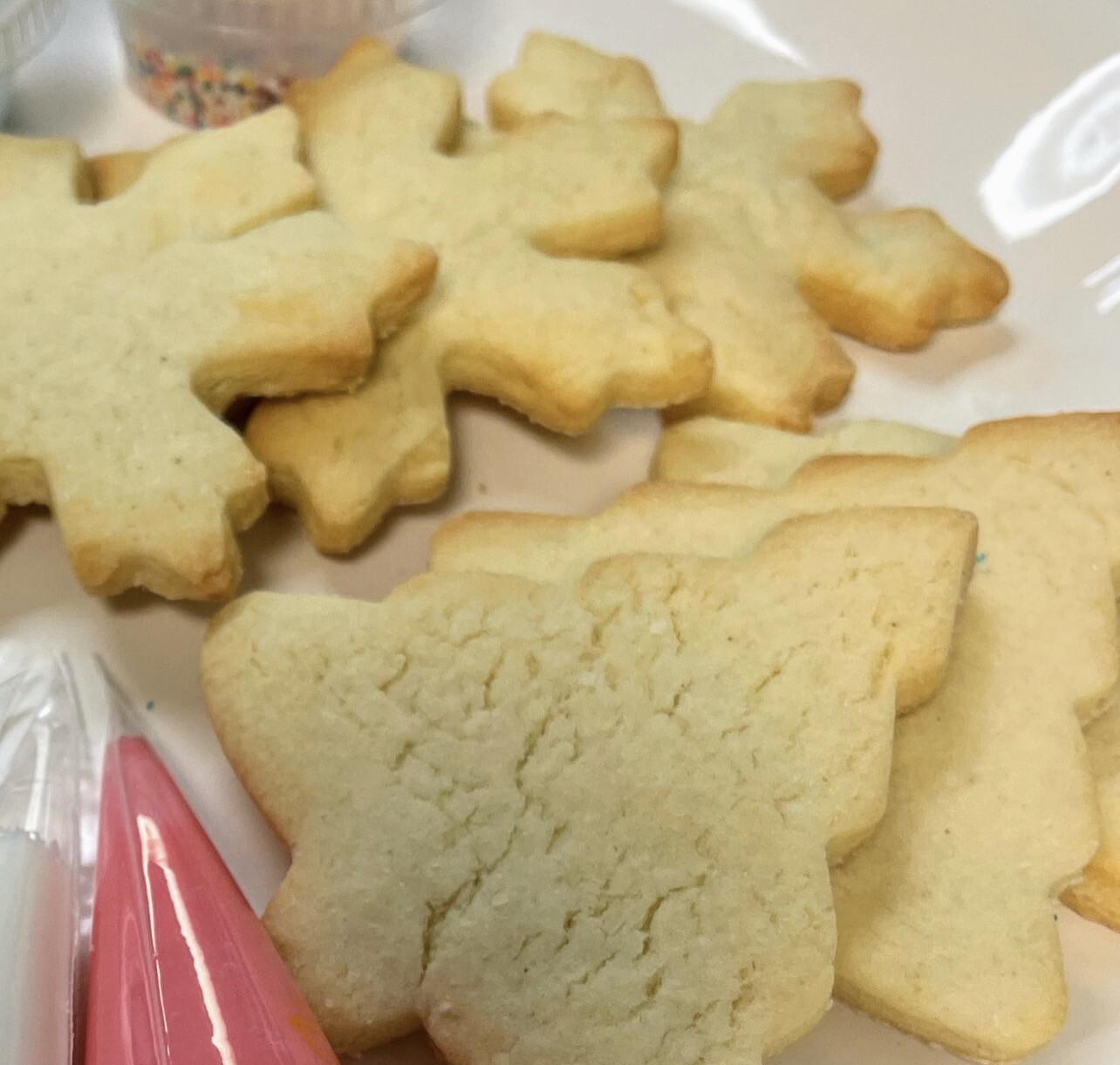 Dairy Free Sugar Cookies (6 Pack)