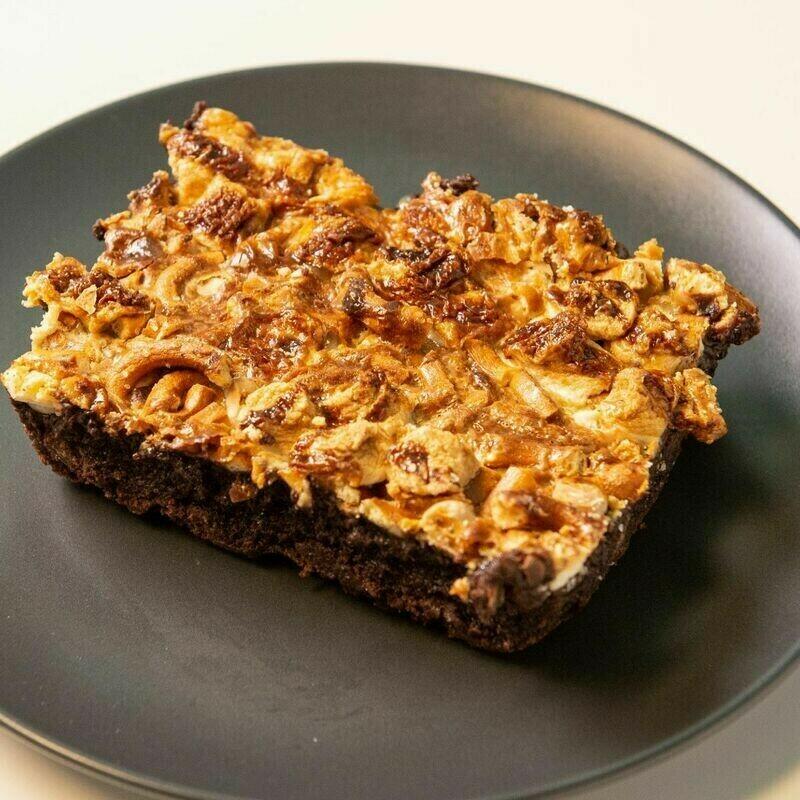 Gluten Free 6 Layer Brownie (1 Bar)