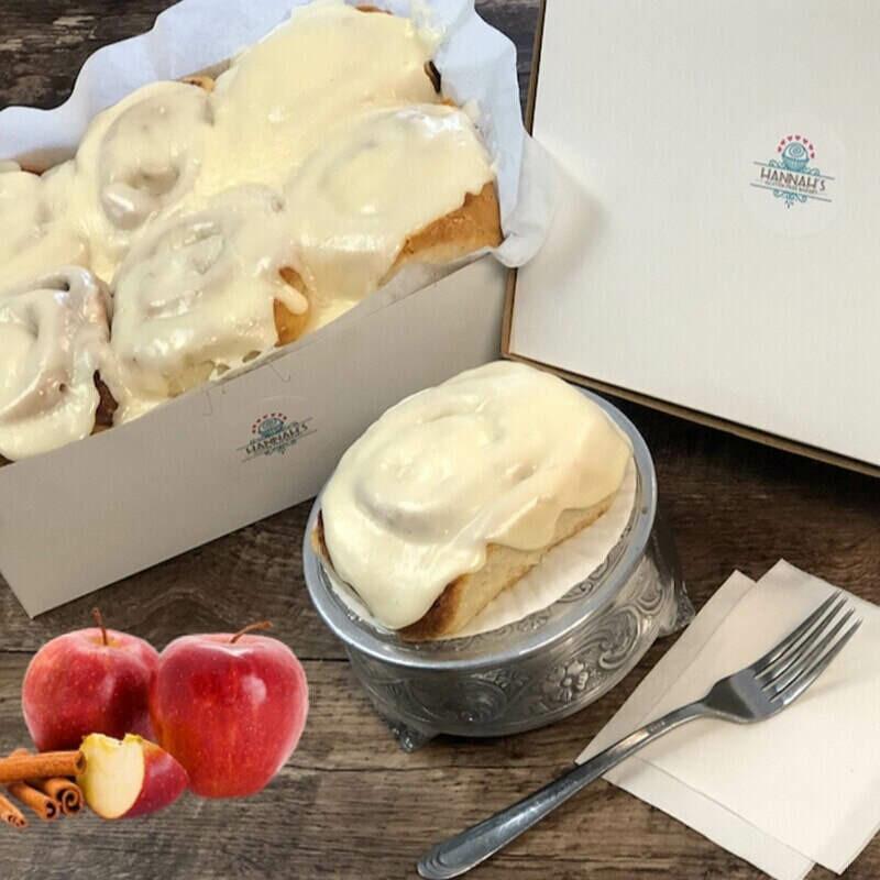 Apple Cinnamon Roll (4 Pack)
