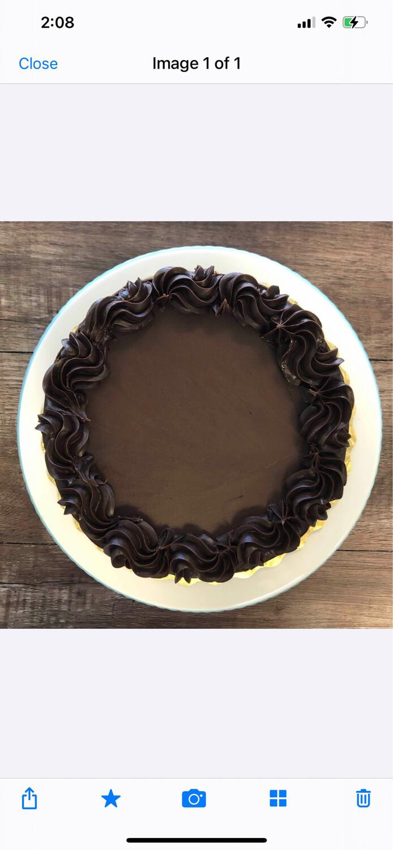6 Inch Cake (Basic)