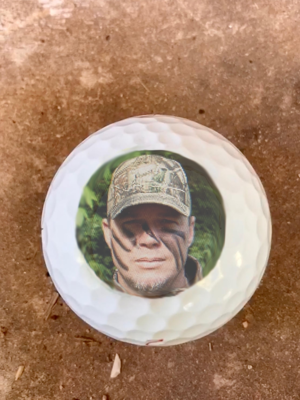 Chipper Jones Golf Balls