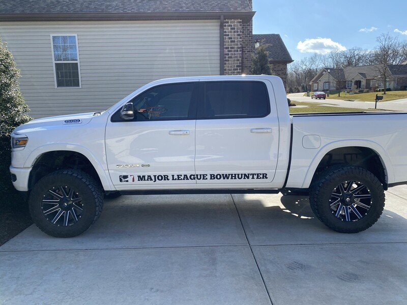 Major League Bowhunter LARGE Truck Decal