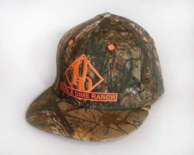 Realtree/Orange Double Dime Flatbill Hat