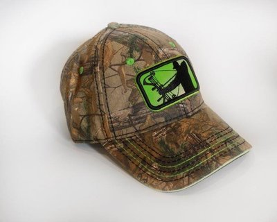 Realtree/Lime Adjustable Hat