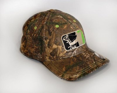 Realtree/Lime Green Fitted Hat