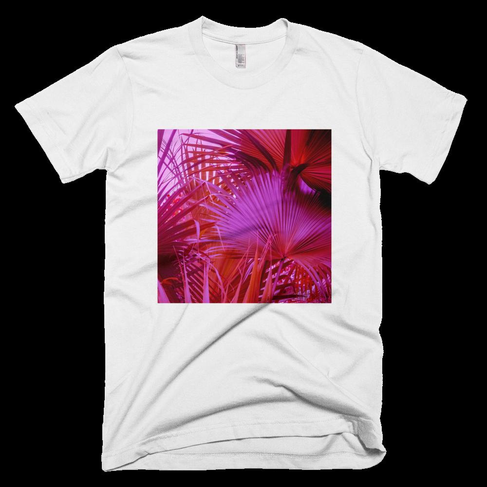 Magenta Palms: White
