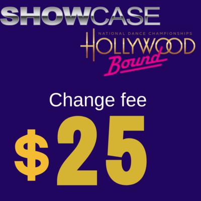 Change fee