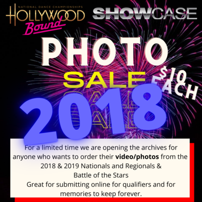 Photo orders 2018 events only