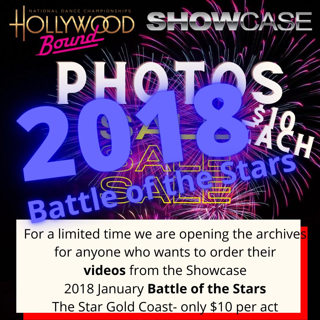 Photo orders 2018 Showcase Battle of the Stars, The STAR CASINO GOLD COAST
