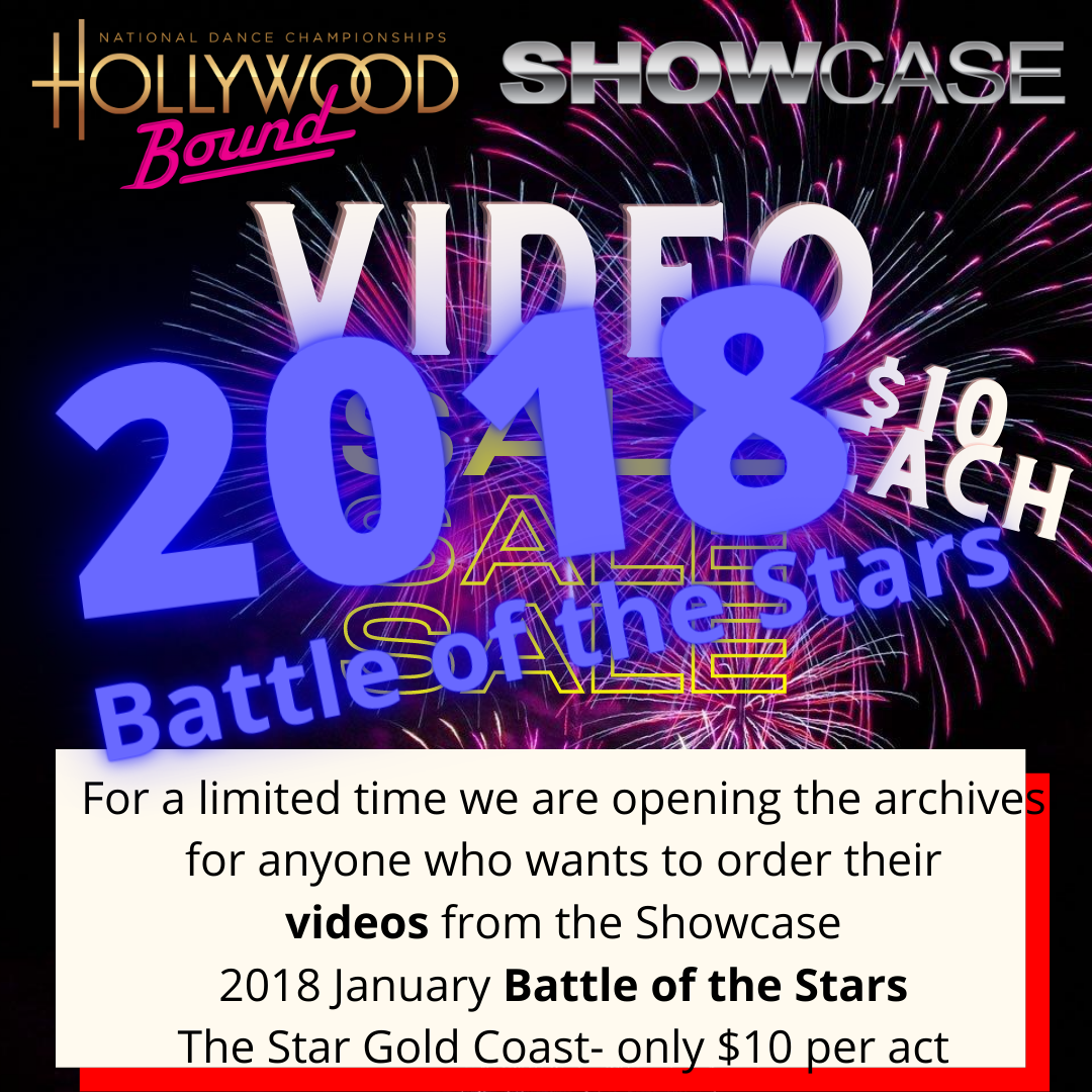 Video orders 2018 Showcase Battle of the Stars, THE STAR GOLD COAST