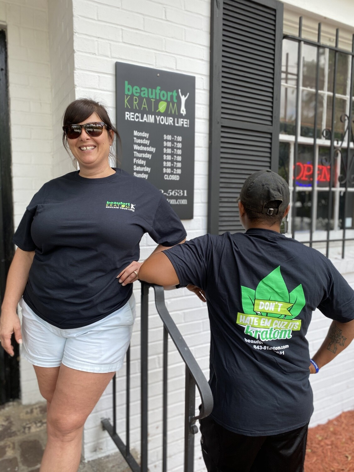 Beaufort Kratom T-Shirts (Don't Hate Em)