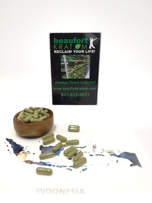 Green Sumatra Capsules 1.5 oz.